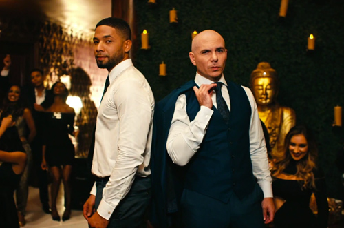 Jussie-Pitbull-Video